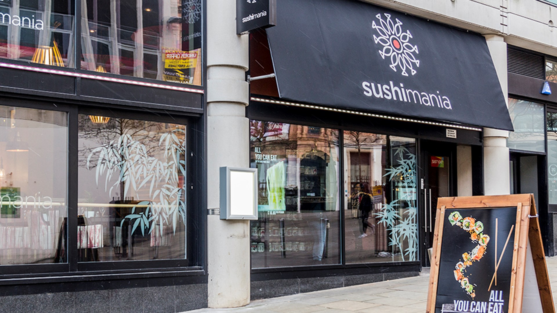 Half Price Eat In At Sushimania Nottingham Its In