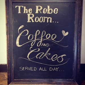 The Robe Room Cafe logo