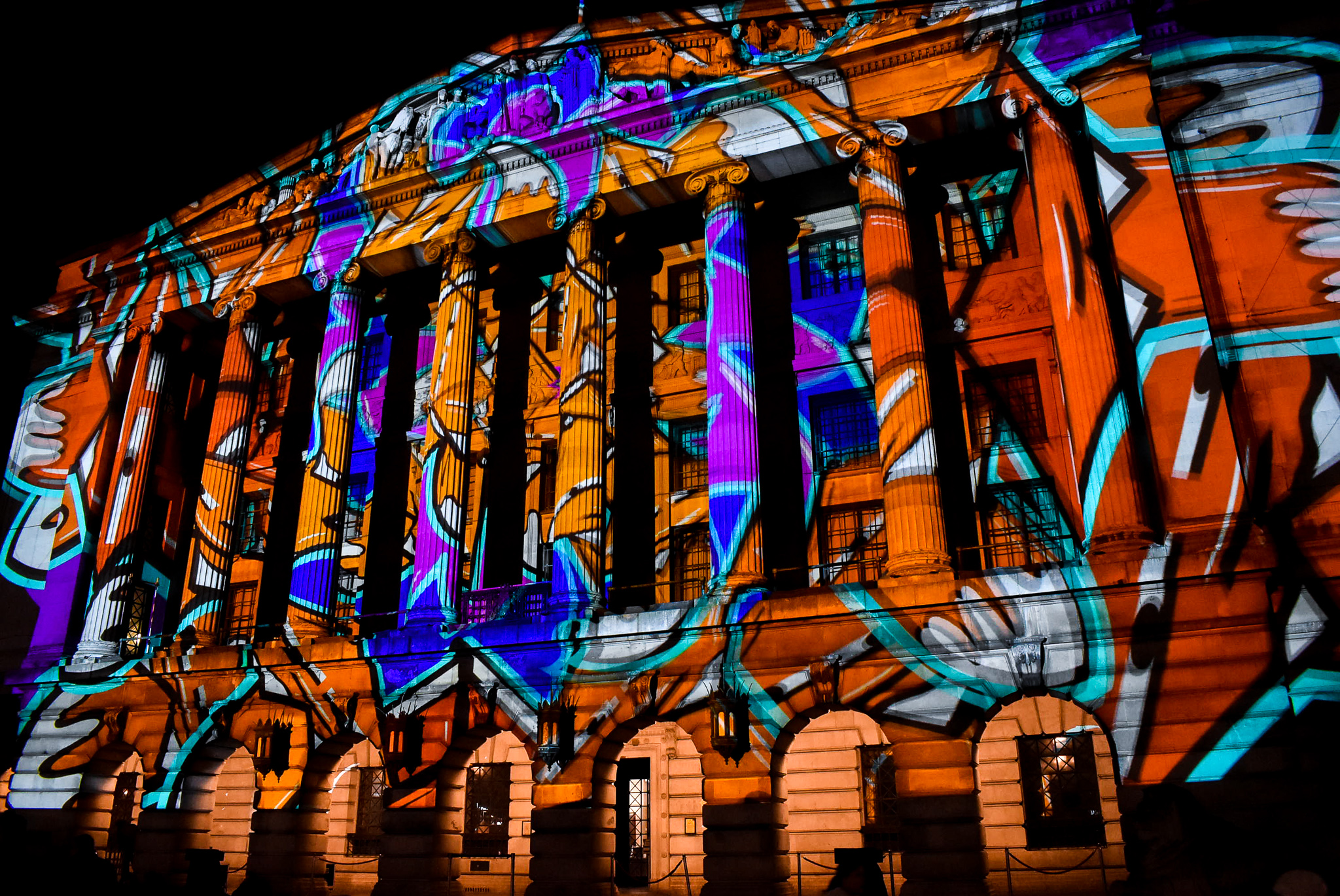 Paint to Pixel - Nottingham Council House