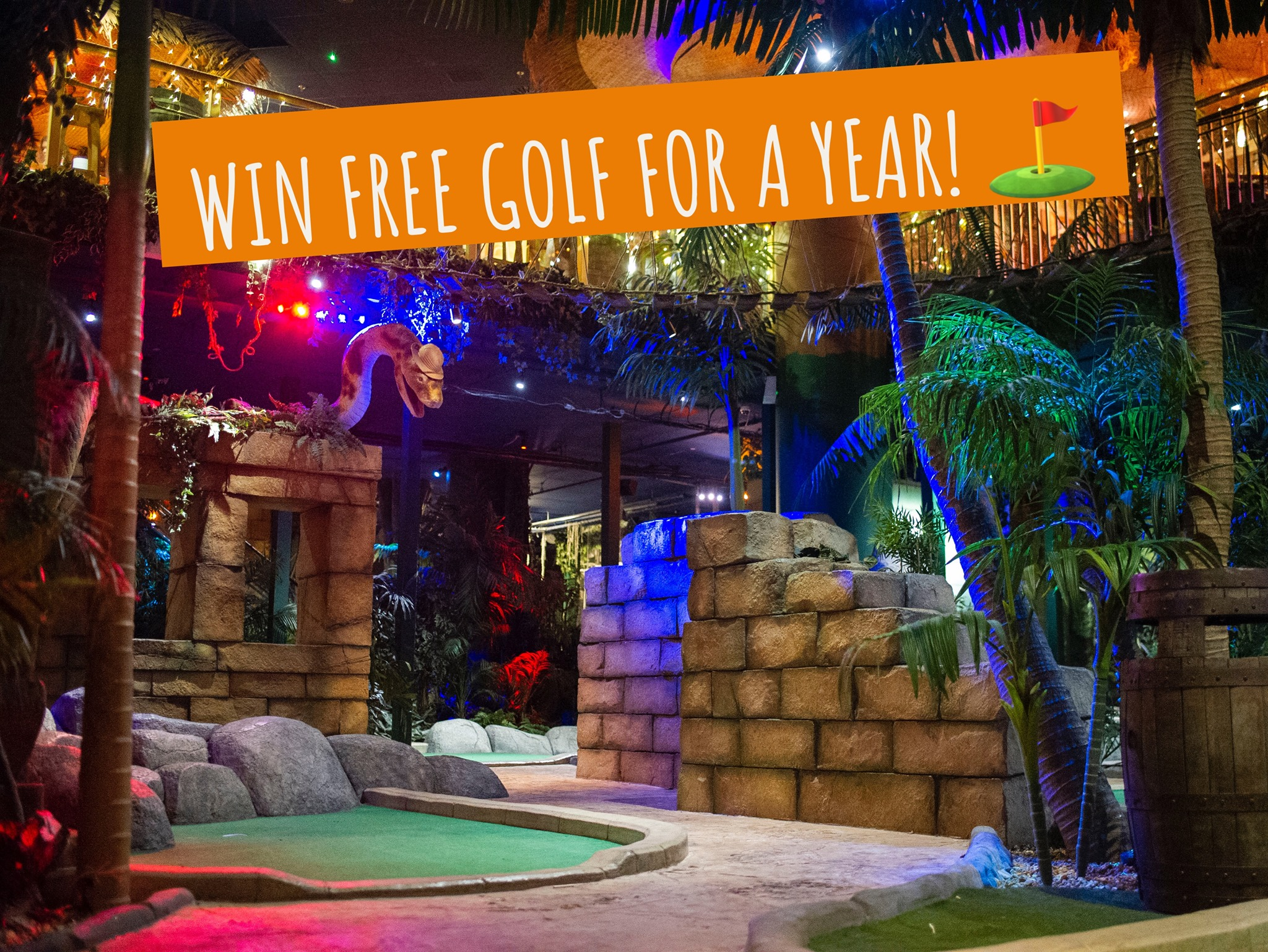 Credit: The Lost City Adventure Golf