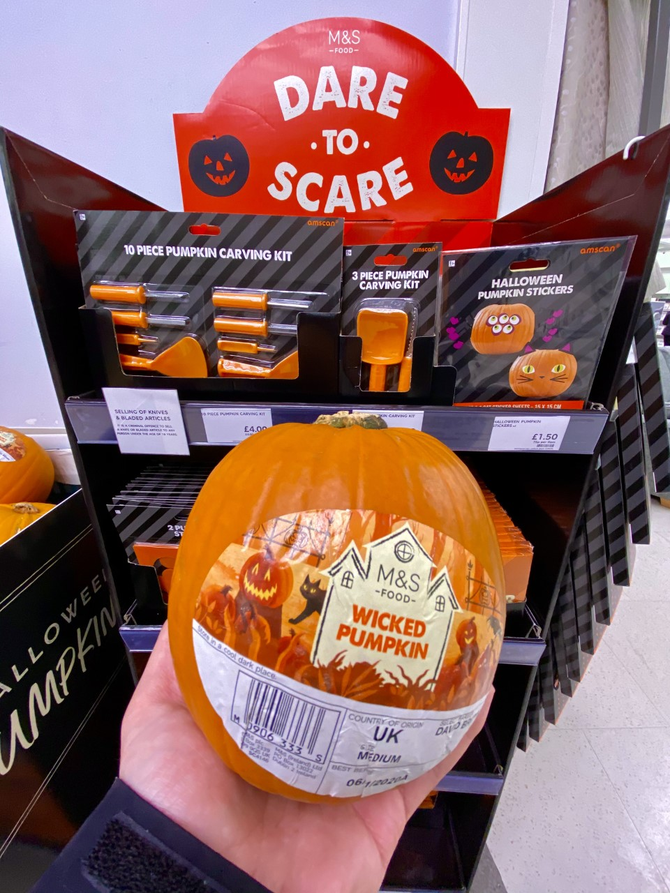 Wicked Pumpkin - Marks & Spencer
