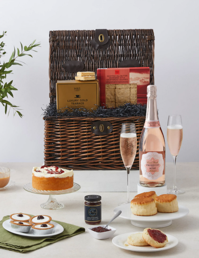 Marks and Spencer Tea in Mayfair Hamper. Credit: Marks & Spencer